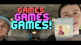 Live Garage Sale Video Game Finds! N64, PSP, Wii U, PS3, Zelda, Games Games Games! S2E9