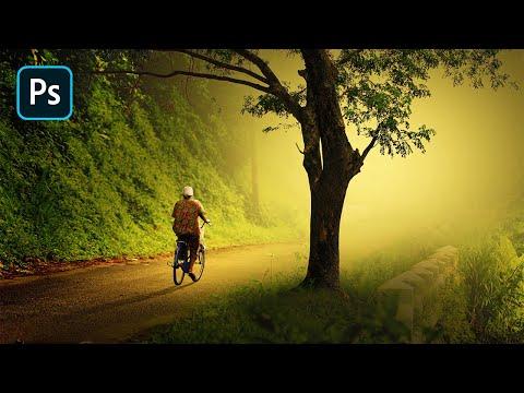 Photoshop CC Tutorial - Dramatic Photo Art in Photoshop