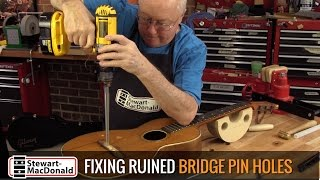 Fixing Ruined Bridge Holes