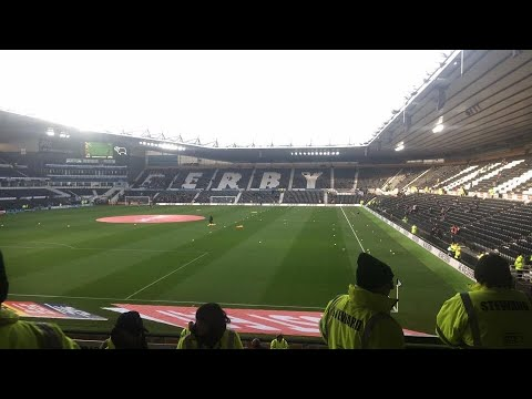 Derby County Vs Rotherham United - Match Day Experience