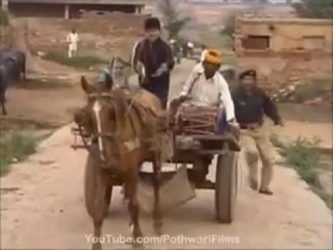 Funny Pothwari Drama Ladla Puttar 2015 Do Daz Daz Daz Daz