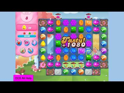 Candy Crush Saga Level 3144 NO BOOSTERS Cookie
