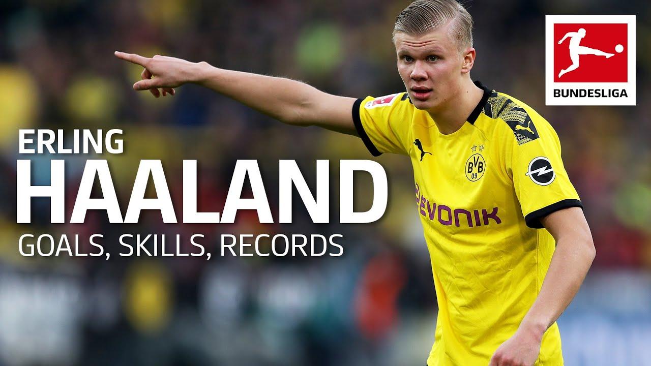 Best Of Erling Haaland Best Goals Skills Records Youtube