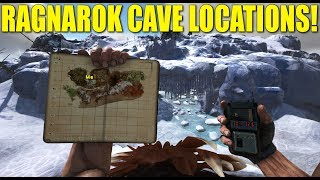 RAGNAROK CAVE LOCATIONS! (How Not To Be A Noob) - Ark:Survival Evolved
