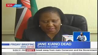 Former Maendeleo ya Wanawake Chairperson Jane Kiano succumbs to Lung Cancer