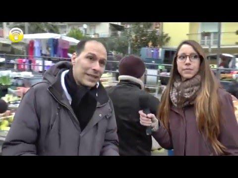 InPresaDiretta: Passeggiando per il mercato di Alassio