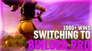 TRYING TO GET USED TO BUILDER PRO | 1000+ WINS | Fortnite Battle Royale
