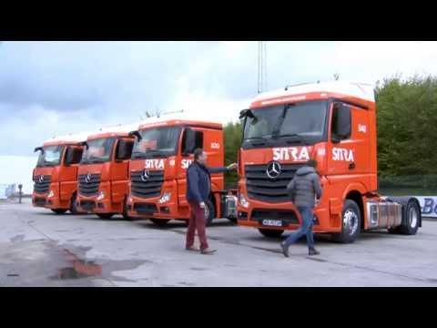 TRANSPORT TV 32: Sitra investeert in 120 nieuwe Mercedes Benz trekkers