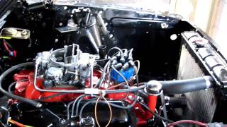 65 mustang 289 open headers :D