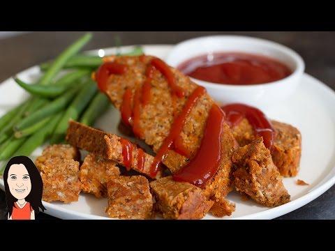 Gluten Free Seitan Style Roast Tasty Vegan Meat Substitute!