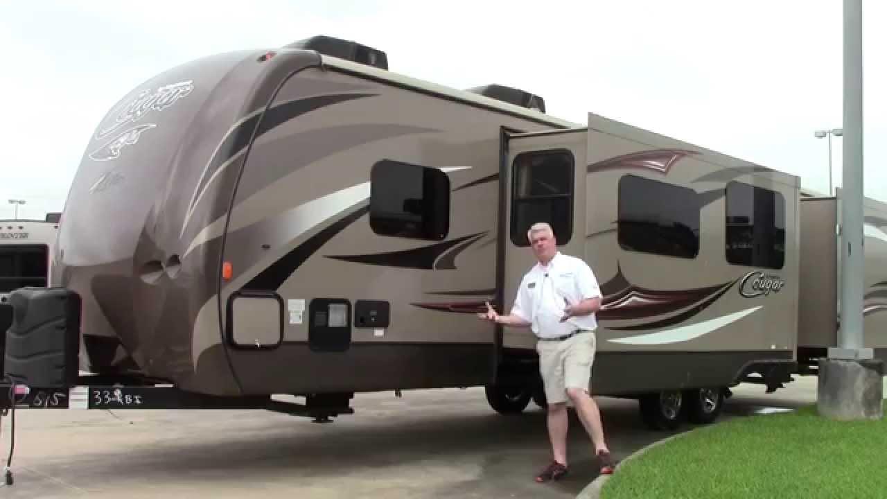 New 2015 Keystone Cougar 33rbi Travel Trailer Rv Holiday
