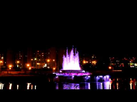 Поющий фонтан г. Дубна