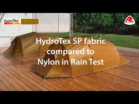 HydroTex SP fabric compared to Nylon in Rain Test | Pure Outdoor Passion