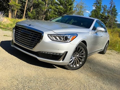 2017 Genesis G90 EQ900 A Hyundai Equus by another name TECH REVIEW 1 of 2