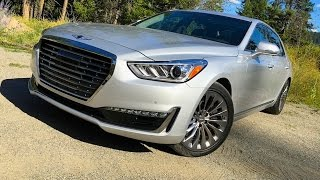 2017 Genesis G90 EQ900 A Hyundai Equus by another name TECH REVIEW 1 of 2 смотреть