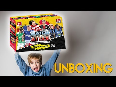 Match Attax Weihnachtskalender.Repeat Bundesliga Unboxing Match Attax Extra Display 2018 19 By