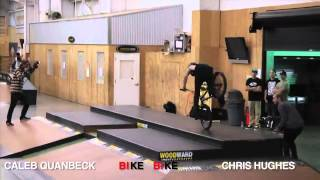 Vital BMX Game Of BIKE 2013 Caleb Quanbeck vs Chris Hughes
