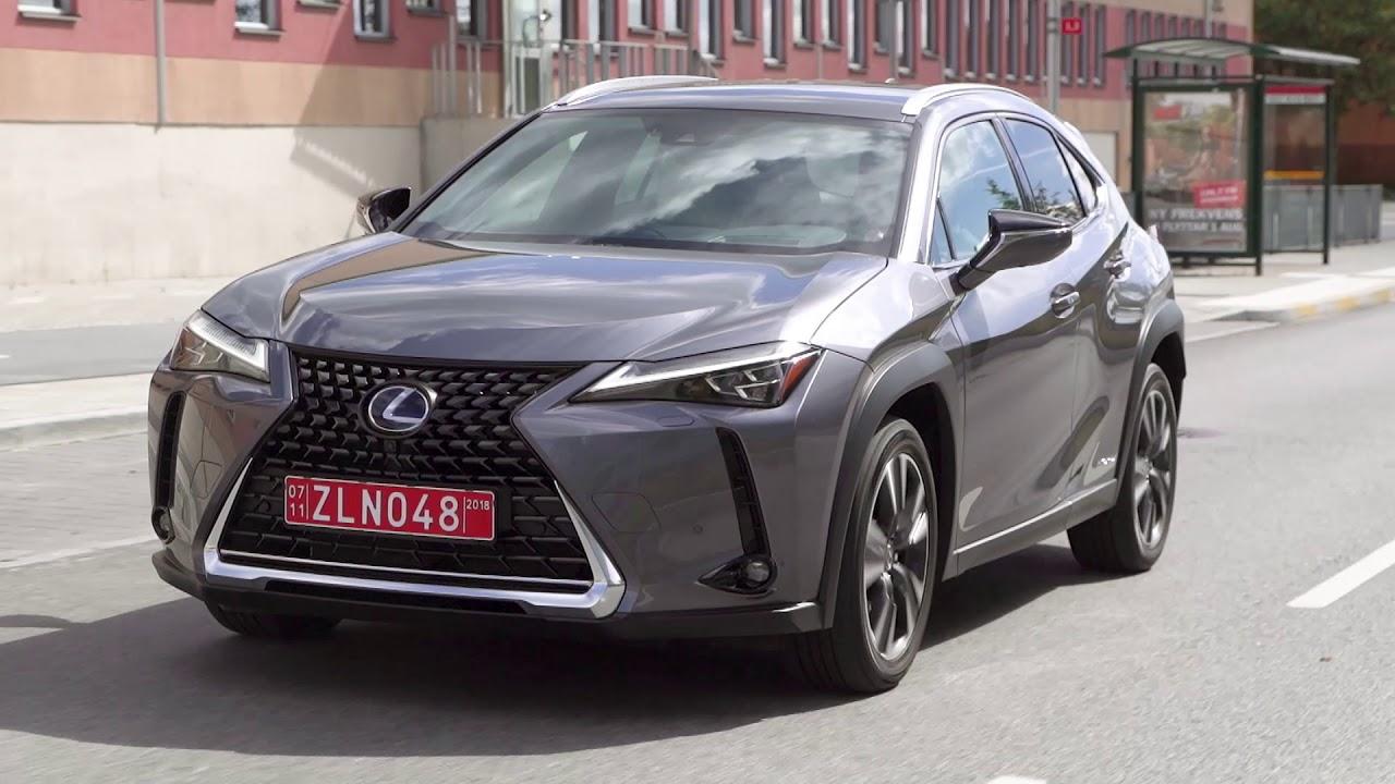 Lexus UX 250h // Grey // footage - YouTube