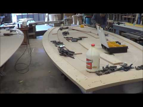 "Using a CNC machine to make a 16 '  8 "" long table  (part 1)"