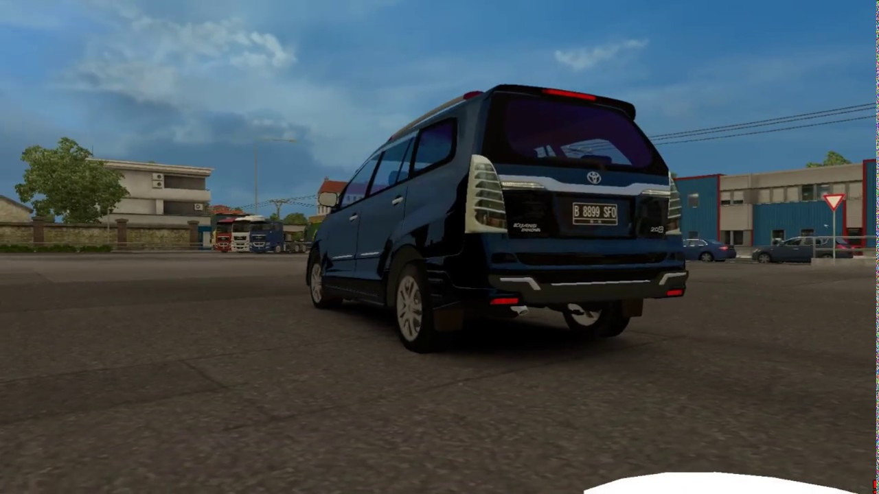 Review Old Kijang Inova Ets2 Mod Bus Indonesia By Sun Sh4d0w
