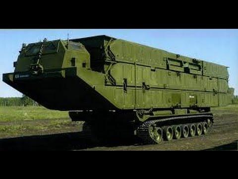 Мегамашины - Танковый мостоукладчик