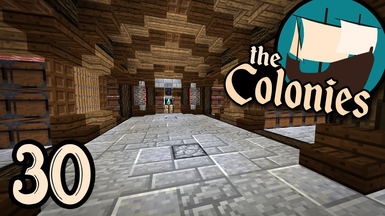 STORAGE ROOM IDEAS ☸ The Colonies EP30 [Minecraft 1.13