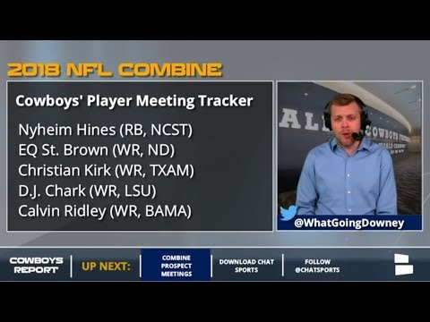 Cowboys Combine Meetings Tracker: The Prospects Dallas Met With At The 2018 NFL Combine