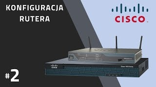 Ruter CISCO #2 - Ruting statyczny (DCE + DTE)