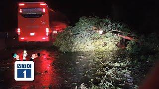 Phú Yên: Hàng loạt xã mất điện do bão số 6