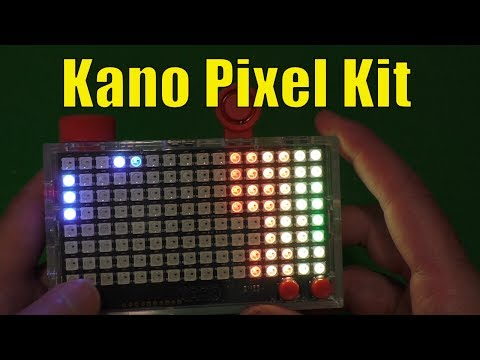 Kano Pixel Kit Review, A DIY Lightboard That Teaches Coding