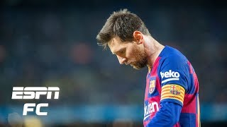 Lionel messi shocked barcelona supporters by posting a very public criticism of sporting director eric abidal on his instagram page. will this feud culminate...