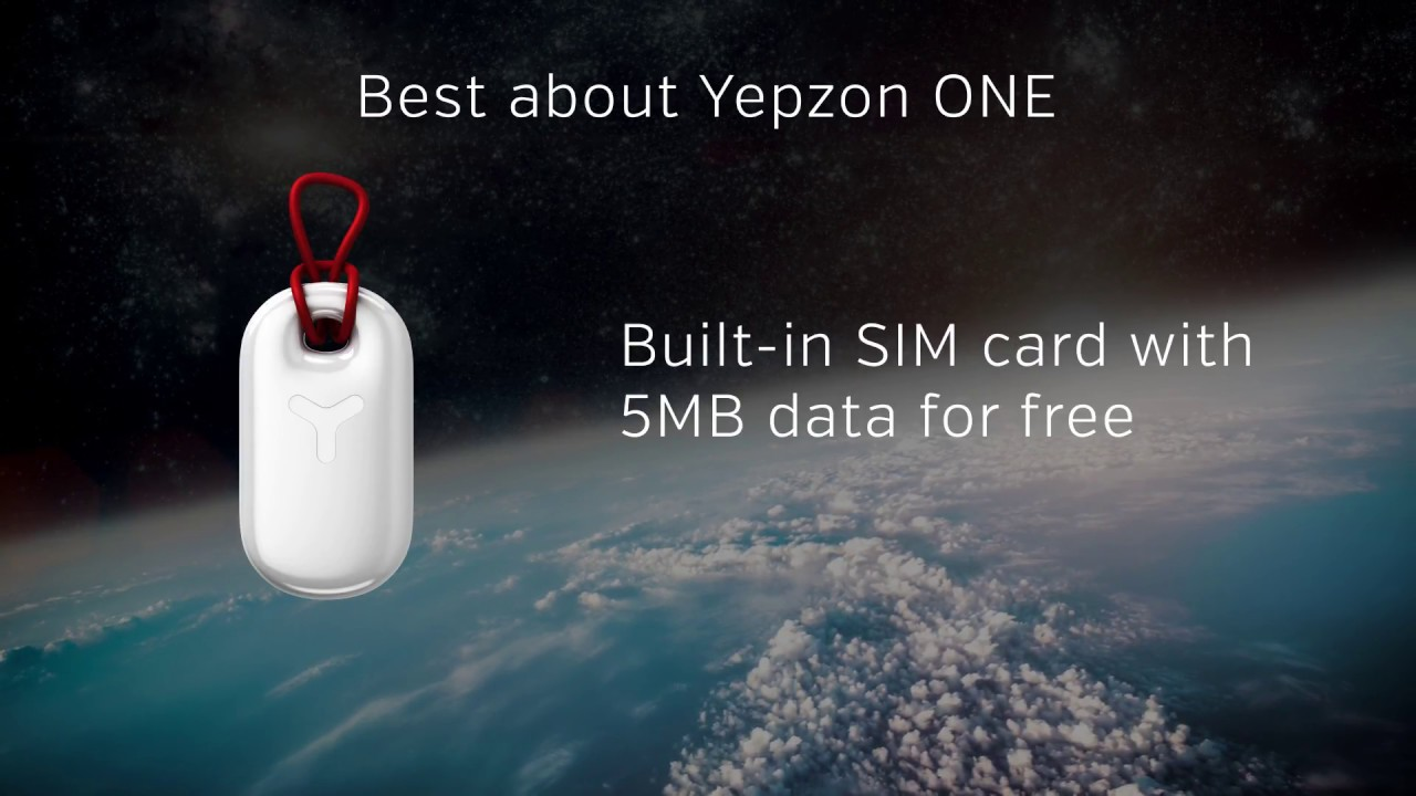 Yepzon ONE GPS Tracker for People, Pets and Valuables