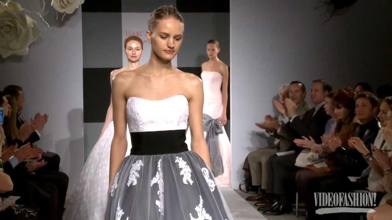 Isaac Mizrahi for Kleinfeld Bridal S/S 2013 - Videofashion - YouTube