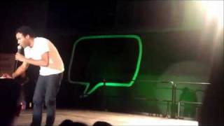 "Childish Gambino ""Do Ya Like"" LIVE @ UMBC"