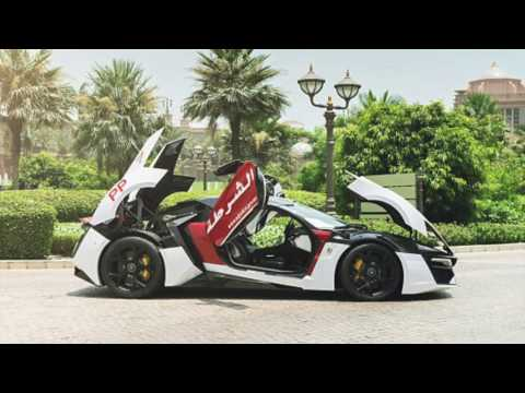 AWESOME POLICE CARS OF ABUDHABI