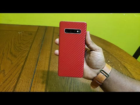 How to make your own Dbrand Skin Galaxy S10 plus Edition