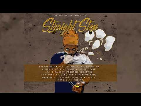 Straight Step Riddim Mix ▶DEC 2017▶ Busy Signal,Turbulence,RC,Lutan Fyah&More (Warrior Musick)