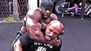 Kali Muscle CHOKE OUT MMA FIGHTER
