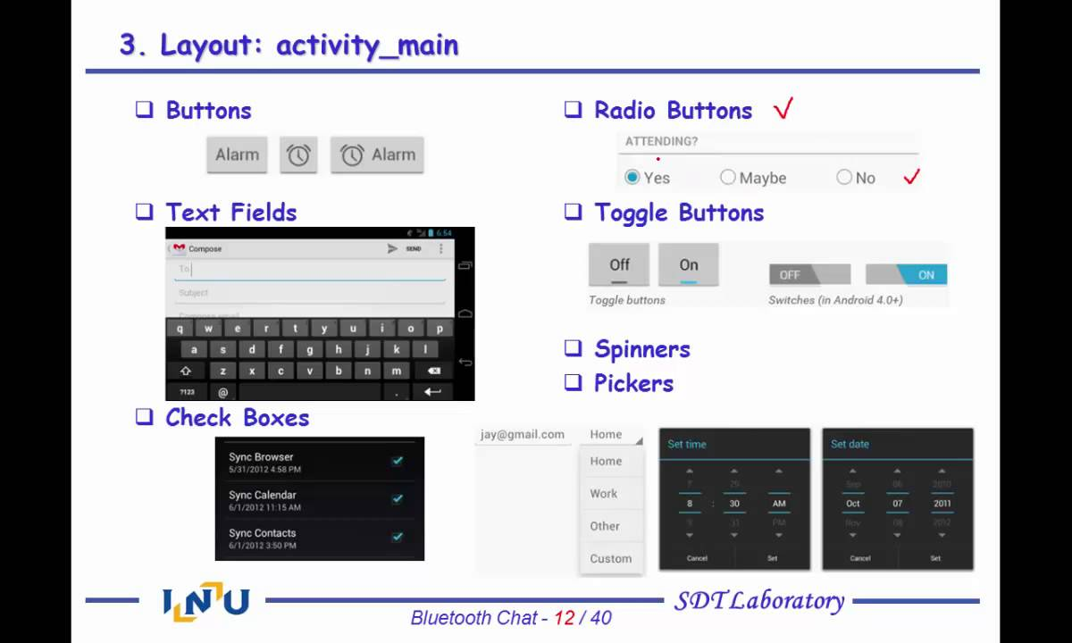 Android App Programming 4-1 Bluetooth Chat