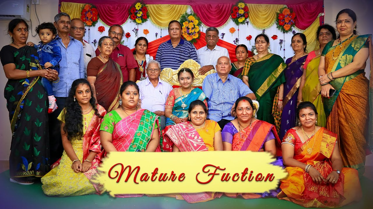 Stage decoration for half saree functions