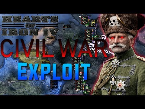 Hearts Of Iron 4 Civil War Exploit (Waking The Tiger Cheats