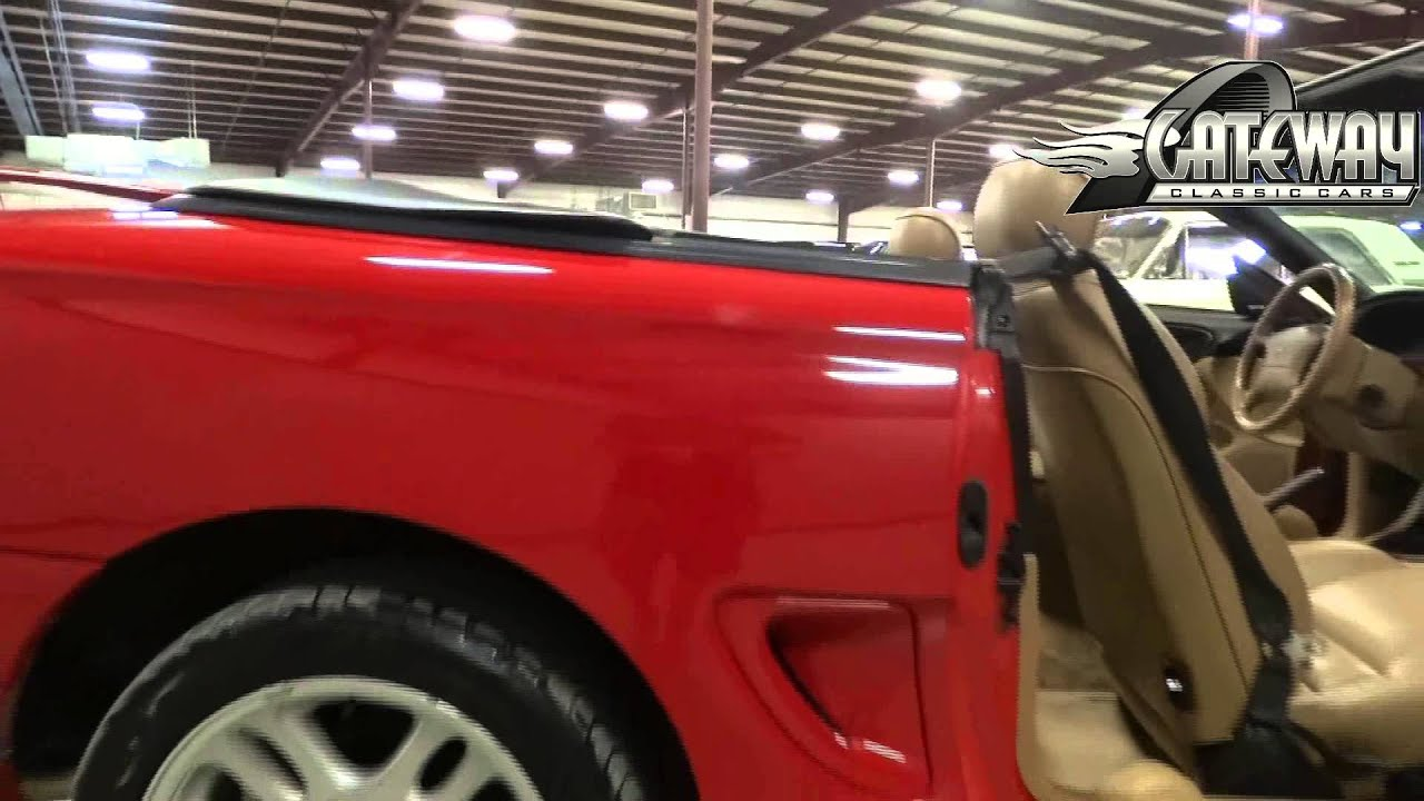 1996 ford mustang gt convertible located in our louisville ky showroom youtube. Black Bedroom Furniture Sets. Home Design Ideas