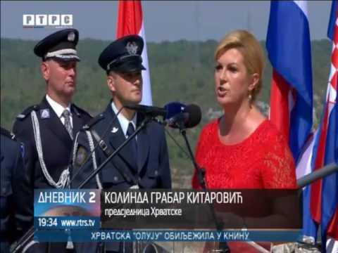 """Hrvatska slavi """"Oluju"""" uz povike """"Za dom spremni""""!"""