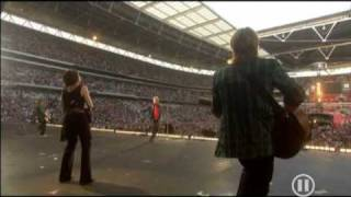 Rod Stewart Maggie May Live @ Concert For Diana