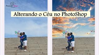 Como alterar o céu no Photoshop | Super Fácil