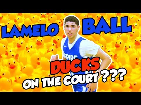LaMelo Ball Fans THROW DUCKS on the Court??? - Wild & Funny Things that happen around Melo