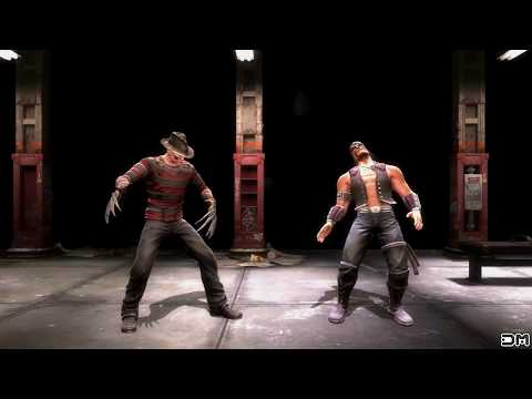 Mortal Kombat IX Freddy Welcome To My Nightmare Fatality on All Characters PC 60FPS 1080p