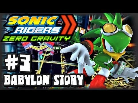 Sonic Riders Zero Gravity - (1080p) Part 3 - Babylon Story