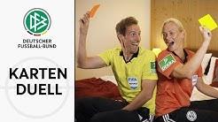 Wer zeigt mehr gelbe Karten? | Sascha Stegemann vs. Bibiana Steinhaus | Schiedsrichter Kartenduell