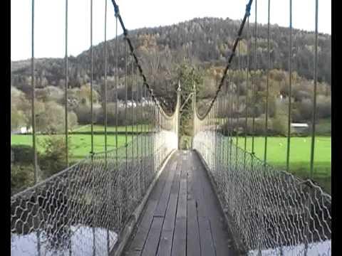 Afon Conwy Suspension Bridge